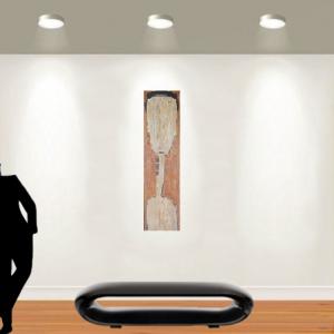 Tableau acrylique sur toile : Immobilité par un artiste balinais